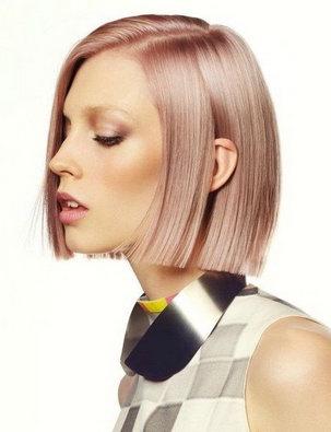 Жемчужно розовый цвет волос фото