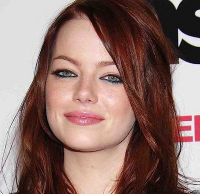 голубые глаза рыжие волосы макияж