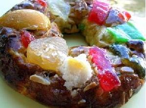 Украшение торта миниконфетами, тянучками, цукатами