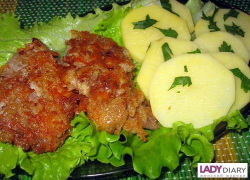 Отбивные из телятины в духовке рецепт с пошагово