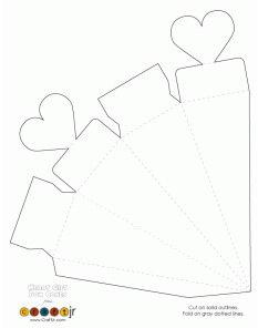 Торт из бумаги и картона с пожеланиями и сюрпризом своими 69