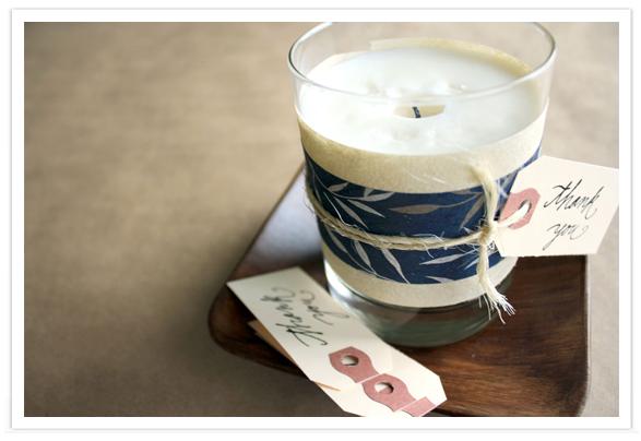Ароматическая декоративная свеча