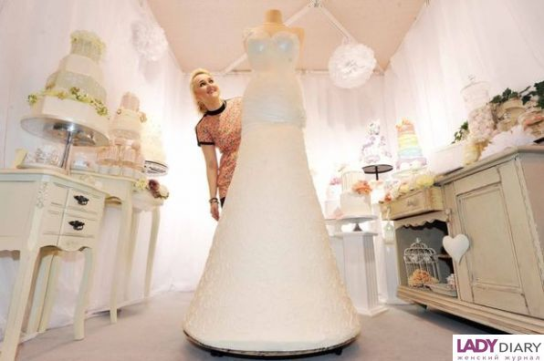 e023fbeb532 Свадебное платье-торт — Женский интернет журнал