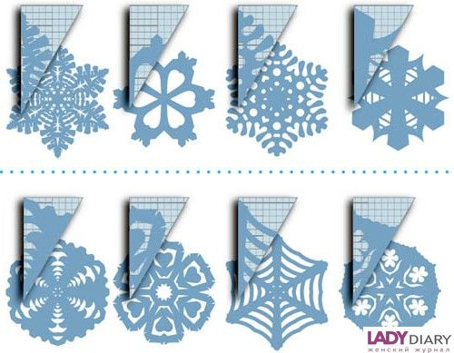 Поделки на новый год своими руками снежинки