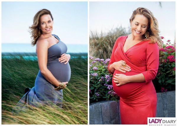 Фото русских беременных знаменитостей