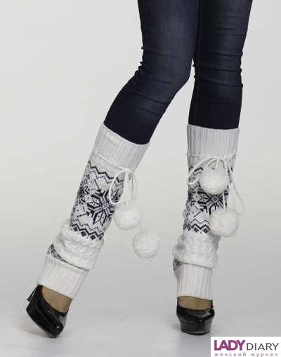 как носить гетры с джинсами фото