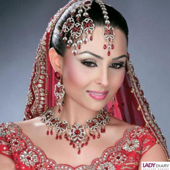 Кожа индийской женщины 5