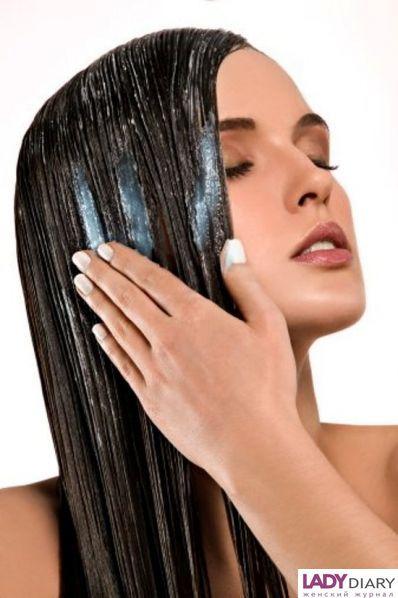 Уход волос после мытья