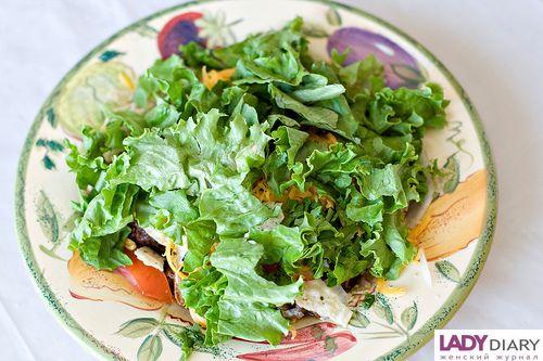 простые салаты с фасолью фото