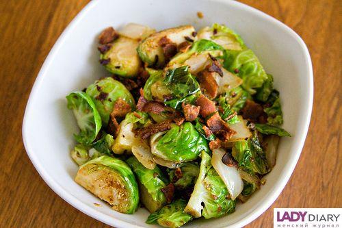 Как приготовить из брюссельской капусты салаты
