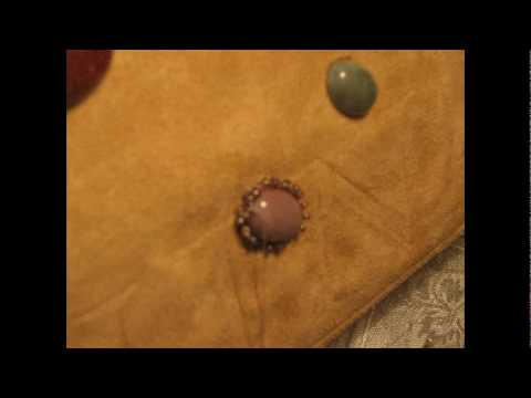 Украшаем сумочку узором из камней - видео мастер-класс.